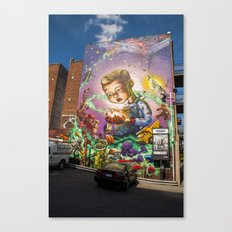 Imagination Mural Streetart Canvas Print