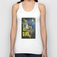batgirl Tank Tops featuring Batgirl by Joe Badon