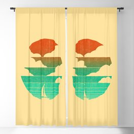 Go West (sail away in my boat) Blackout Curtain