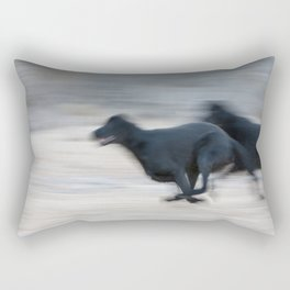Flat Out Labradors Rectangular Pillow
