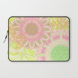 Hand Drawn Floral & Mandala 07 Laptop Sleeve