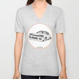 Crazy Car Art 0192 Unisex V-Neck