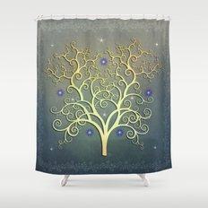 Twilight Tree Shower Curtain