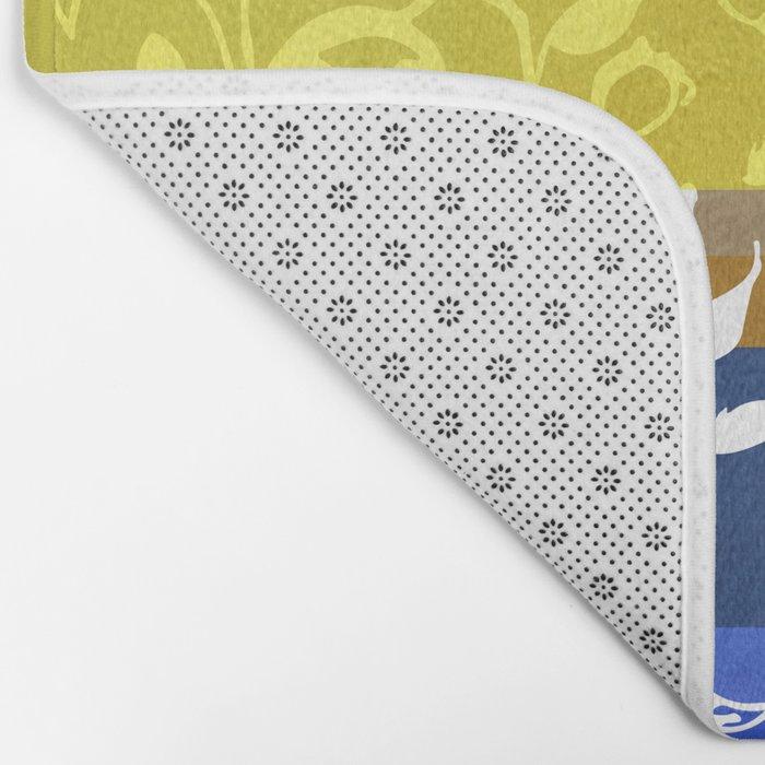 Unconventional lace Bath Mat