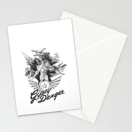 Kaiju Killer Stationery Cards