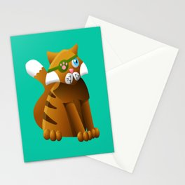 Pirate Kittens - Mr Jab Stationery Cards