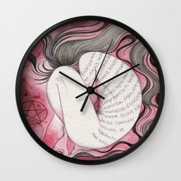 Exorcism Wall Clock