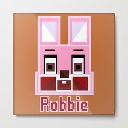 Block Robbie Metal Print