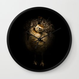 Peahean Portrait Wall Clock