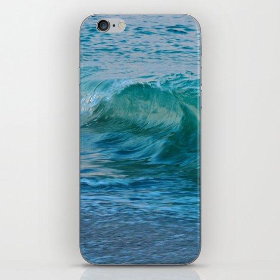 Crashing Wave at Dusk iPhone Skin