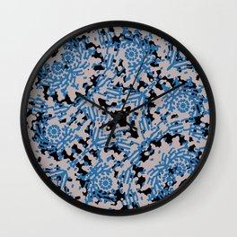 Modern Tribal Geometric Print Design Wall Clock