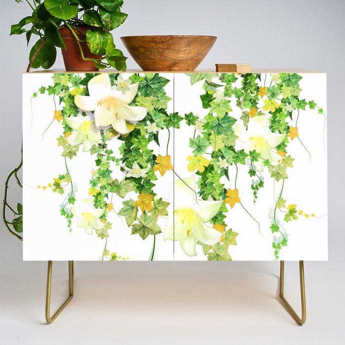 Watercolor Ivy
