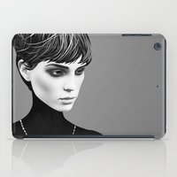 ruben iPad Cases featuring The Cold  by Ruben Ireland
