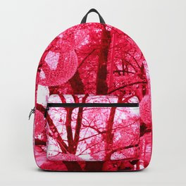 Glowing Pink Trees Backpack