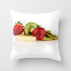 Exotic fruit Throw Pillow