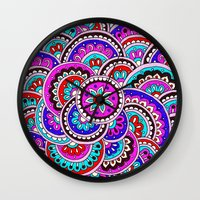 journey Wall Clocks featuring Journey by PeriwinklePeacoat