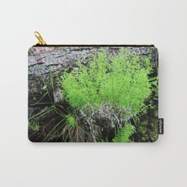 Green Forest Ferns Carry-All Pouch