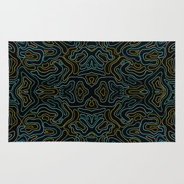 Rivers and Roads 3 Rug