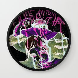 Anarchy In Versailles Wall Clock