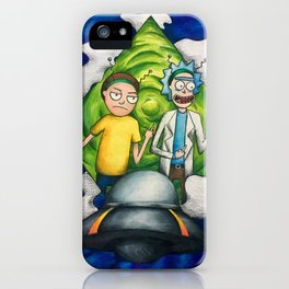 Peace Among Worlds iPhone Case