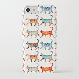 Cat Collection: Watercolor iPhone Case