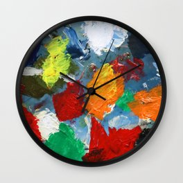The Artist's Palette Wall Clock