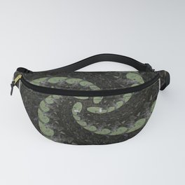 Spiralling Water Lilies Fanny Pack