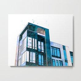 Fresh Empty Apartments Metal Print