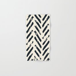 Retro Chevron Pattern 02 Hand & Bath Towel