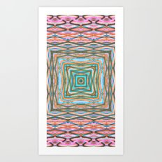 Touchy Vibrations. Art Print