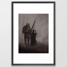 Infantryman Framed Art Print