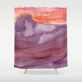 Mar de Lava Shower Curtain