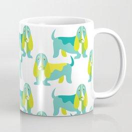 Bertie Basset pattern Coffee Mug