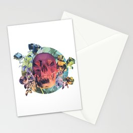 Low Poly Death Stationery Cards