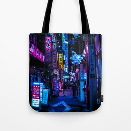 Tokyo's Blade Runner Vibes Tote Bag
