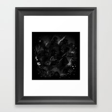 the thrill is gone Framed Art Print