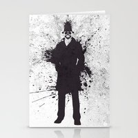 watchmen Stationery Cards featuring WATCHMEN - RORSCHACH by Zorio