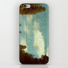 the road iPhone & iPod Skin