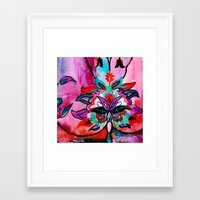 ruby Framed Art Prints featuring Ruby by Sonal Nathwani