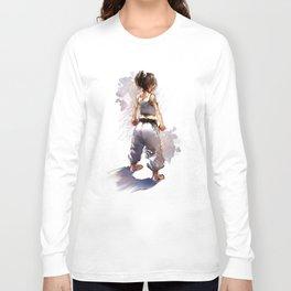 Karate Girl 2 ! Long Sleeve T-shirt
