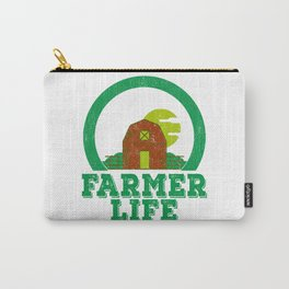 Farmer Life Earth Day 2019 Carry-All Pouch