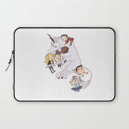 teens and wolves and unicorns Laptop Sleeve