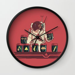 Kleptonaut Wall Clock