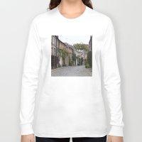edinburgh Long Sleeve T-shirts featuring Edinburgh street by RMK Photography