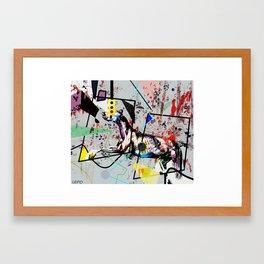 hound Framed Art Print