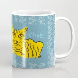 Claude Cat Orange Coffee Mug