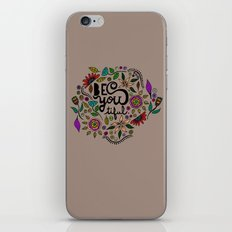 Be You-Tiful (color variation) iPhone & iPod Skin