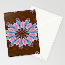 Healing Crystals Mandala Stationery Cards