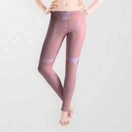 Abstraction_SUN_LINE_POP_ART_PURPLE_Minimalism_002 Leggings