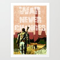 fallout 3 Art Prints featuring Fallout 3 by Dayle Kornely